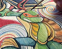 Teenage Mutant Ninja Turtle Official Art Show