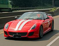 Ferrari Jakarta   FOCI Bandung Touring 2013