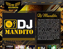 Website Dj Mandito