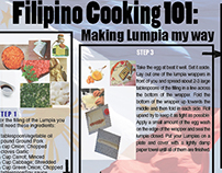 Lumpia recipe, online cookbook page