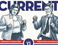 San Antonio Current Cover Illustration