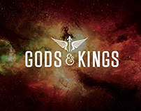 Gods & Kings Logo Design