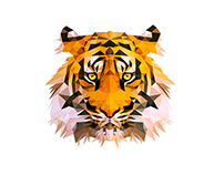 ▲ Wild Vectors and Triangles 1 - Tiger