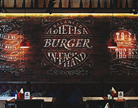 Lettering for KetchUp Burgers