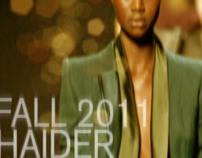 Couture Postcard: Haider Ackermann Fall 2011