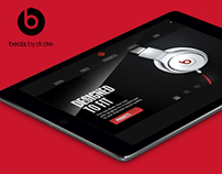 Beats by Dre In-Store iOS Ipad Application