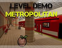 UDK Level Demo - Metropolitan