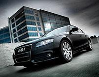 Audi A4 Retouch