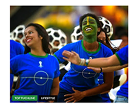 Foot Ball Game Website Design