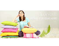 Pillow manufacture website design