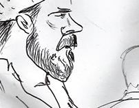 Sketching Castellers Assaigs