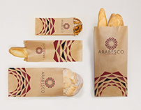 Arabesco Coffee & Lounge Branding Proposal