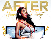 After Hours Party | Night Flyer PSD Template