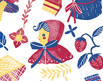 Little Red Riding Hood Pattern