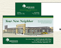 Arbor Bank New Location Mailer