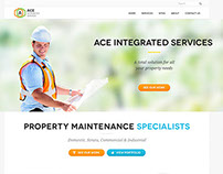 Ace Integrated Services | Responsive Website