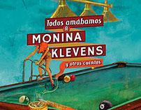 Ilustración-diseño de portada. Todos amábamos a Monina