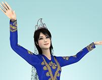 Azerbaijan dance.