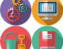 LMS Training Site Icons