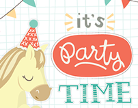 It's Party Time (and you're invited)