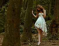 Elléments Magazine: Lady of the Forest
