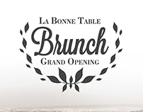 Corporate Identity | LBT Brunch