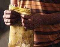 Door-to-door saree seller