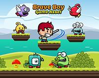 Brave Boy Game Asset for Game Developers