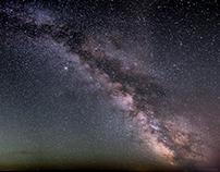 Milky Way over Maryhill