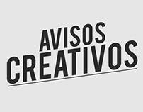 creatividad avisos