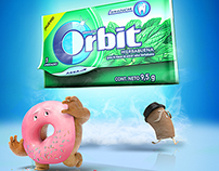 Wrigley's Orbit: Empaque Resellable