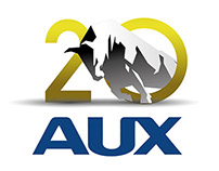 Logo proposal for AUX 20th Anniversary
