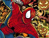 Spiderman Versus Green Goblin