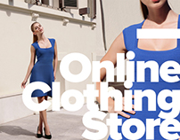 Online store of designer clothes.