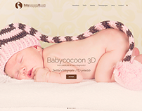 Babycocoon 3D - Web Design