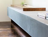 Credenza di Alfonso - Concrete sideboard