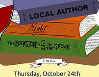 October 2012 Local Author Night