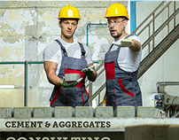 Cement and Aggregate Website Design