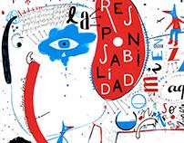 1 cadáver 5 ilustradores // REPSOL - BNE