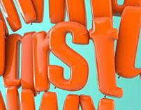 FLOTIPO - 3D Typography