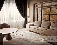 Hotel Living Room Interior