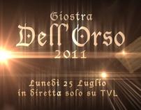 TVL | GIOSTRA DELL'ORSO PROMO