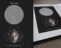POSTER TIME TUNNEL // JEFF MILLS Axis Books 002