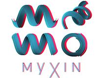3D Logotype MYXIN