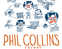 Phil Collins Friday ( Map of my day)