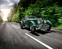 Aston Martin 3rd Series Mark 2 Short Chassis from 1935