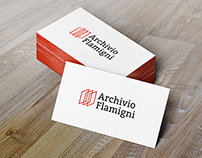 Corporate image and web design for Archivio Flamigni