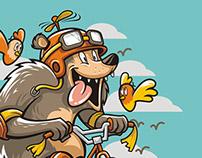 Fly Bear! Fly!
