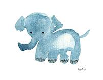 Watercolor Animals - Illustration Series