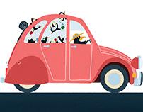 En voiture ! (éditions Larousse)